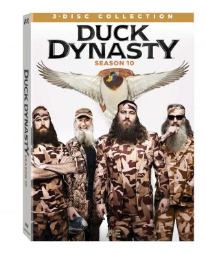 DUCK DYNASTY SEASON 10. (DVD Artwork). ©Lionsgate.