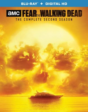 FEAR THE WALKING DEAD: THE COMPLETE SECOND SEASON. (DVD Artwork). ©Anchor Bay.