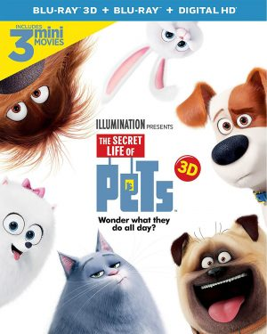 THE SECRET LIFE OF PETS. (DVD Artwork). ©Universal Studios.