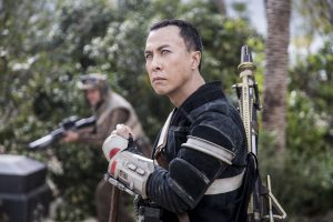 Chirrut Imwe (Donnie Yen) in ROGUE ONE: A STAR WARS STORY. © 2016 Lucasfilm Ltd. CR: Jonathan Olley.