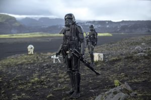 Death Troopers. in ROGUE ONE: A STAR WARS STORY. © 2016 Lucasfilm Ltd. CR: Jonathan Olley.
