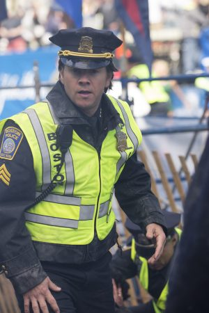 Mark Wahlberg in PATRIOTS DAY. ©CBS Films and Lionsgate Films. CR: Karen Ballard.