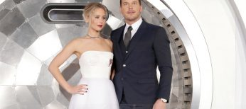 Photos: Jennifer Lawrence, Chris Pratt Aboard 'Passengers'