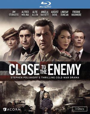 CLOSE TO THE ENEMY. (DVD Artwork). ©Acorn.