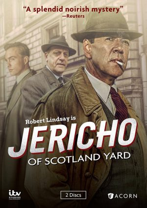 JERICHO OF SCOTLAND YARD. (DVD Artwork). ©ITV/Acorn.