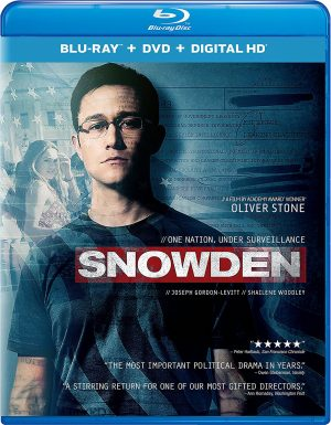 SNOWDEN. (DVD Artwork). ©Universal Studios Home Entertainment.