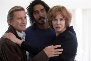 (l-r) David Wenham, Dev Patel and Nicole Kidman star in LION ©The Weinstein Company.
