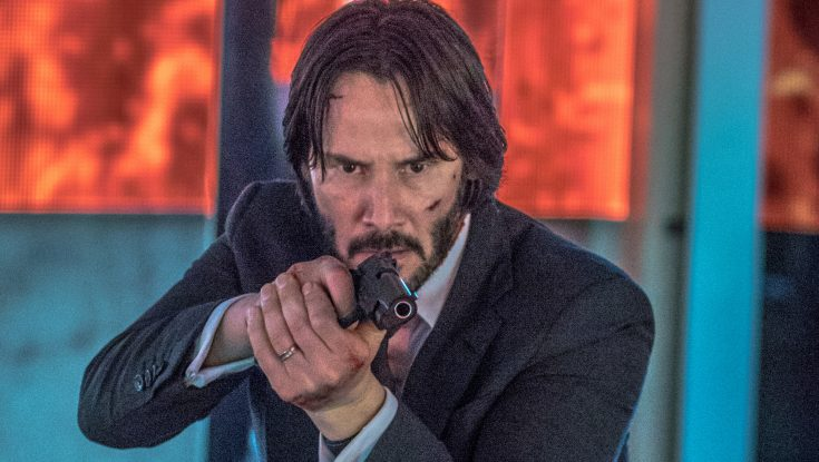 Photos: Laurence Fishburne, Keanu Reeves Reunite in 'John Wick' Sequel