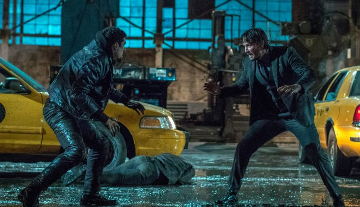Laurence Fishburne, Keanu Reeves Reunite in 'John Wick' Sequel