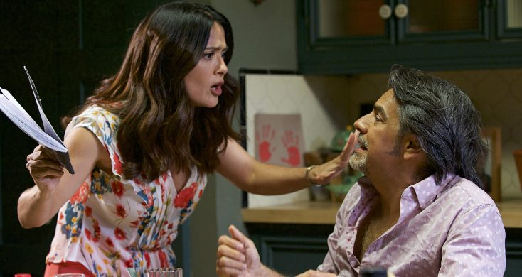 Photos: Salma Hayek Wants You to Be a 'Latin Lover'