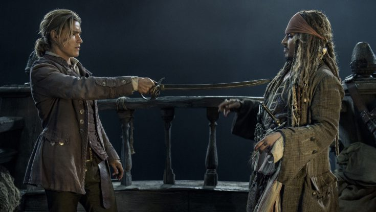 Photos: Brenton Thwaites, Kaya Scodelario Are New Recruits in 'Pirates' Sequel