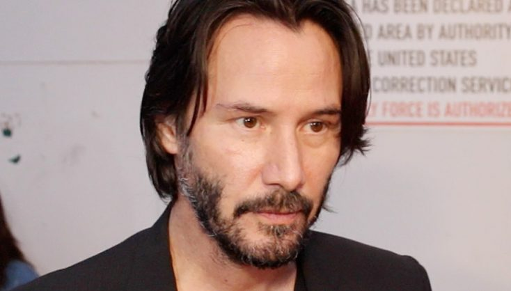 Keanu Reeves in Company of a 'Bad Batch'