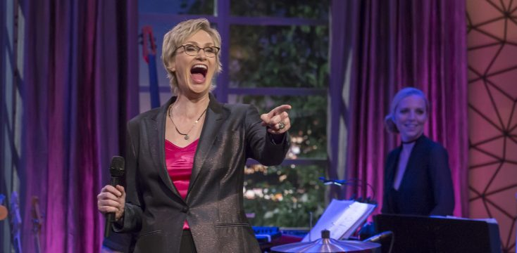 Celebrity game show jane lynch