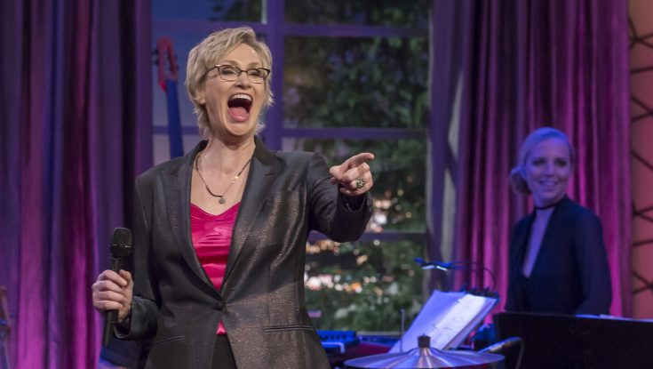 Jane Lynch for the Win on 'Hollywood Game Night'