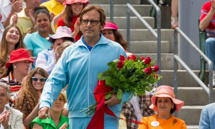 Photos: Steve Carell Takes the Court to Play Real-Life Character in 'Battle of the Sexes'
