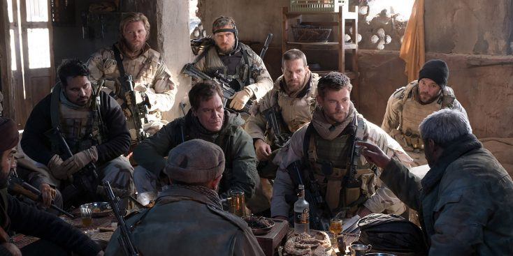 Chris Hemsworth Leads the Cavalry in '12 Strong'