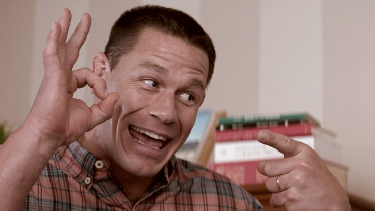 EXCLUSIVE: Multi-tasker John Cena Plays Protective Papa in 'Blockers'