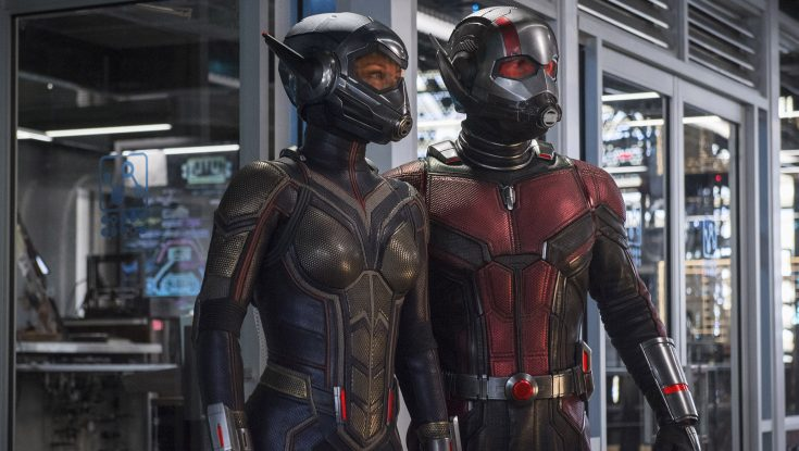 Colony of Actors and Filmmakers Turn up to Champion 'Ant-Man and the Wasp'