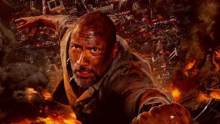 Photos: Dwayne Johnson Goes Up in a Blaze of Glory in 'Skyscraper'