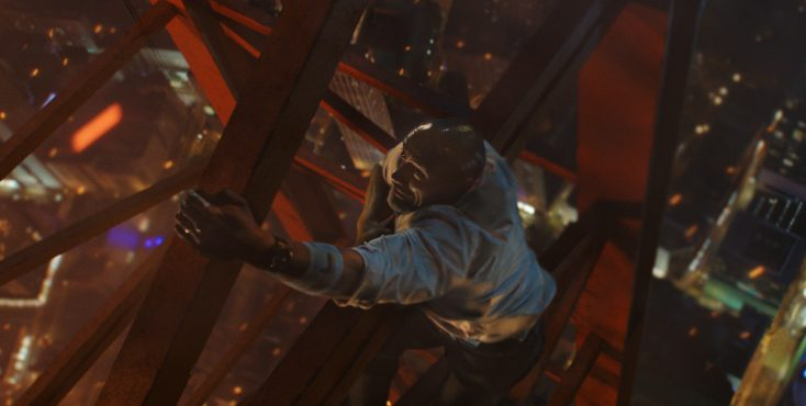 Dwayne Johnson Goes Up in a Blaze of Glory in 'Skyscraper'