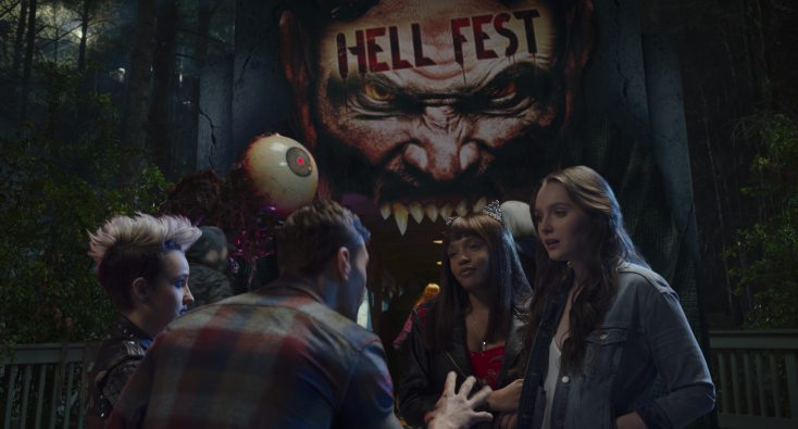 Six Flags Links Up with 'Hell Fest' This Fall