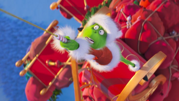 Benedict Cumberbatch Gets Dastardly in 'Grinch'
