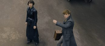 Photos: Redmayne and Waterston Back on the Hunt for 'Grindelwald'