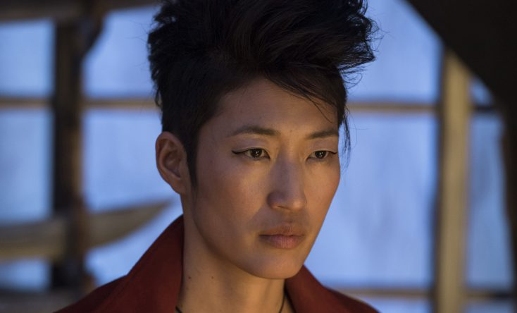 Photos: EXCLUSIVE: Musician-Actress Jihae Flies High as Antihero in 'Mortal Engines'