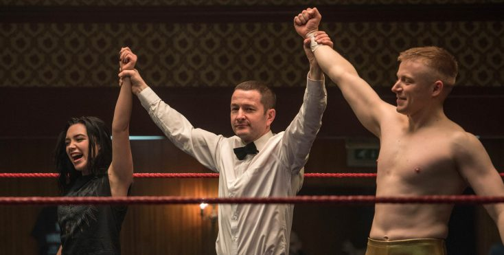 Photos: Merchant Helms Wrestling Family Dramedy 'Fighting with my Family'