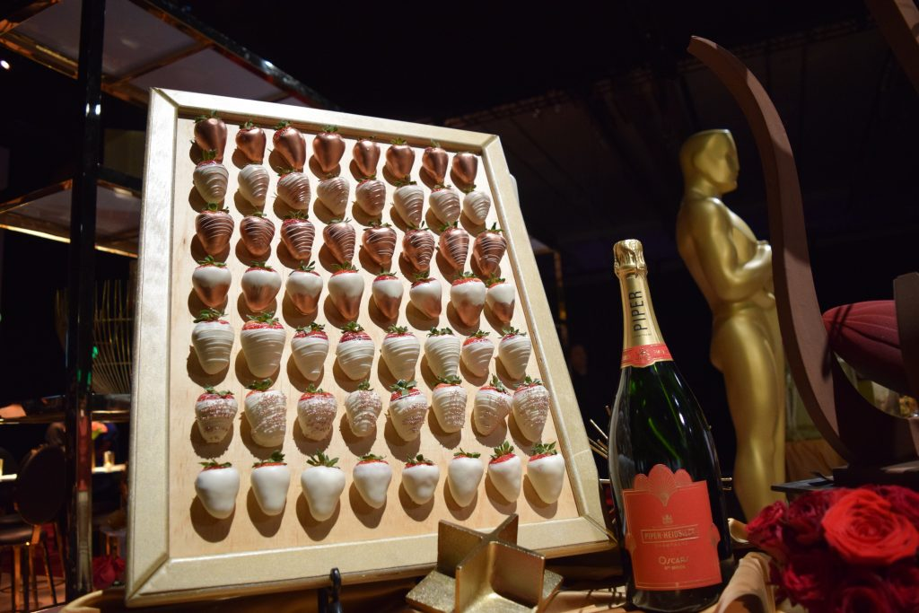 What would the Governor's Ball be without dessert and champagne? CR: Melody Waintal
