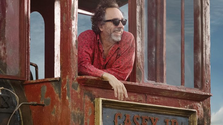 Tim Burton is the Ringmaster of 'Dumbo' with a Cast of 'Weird' Characters