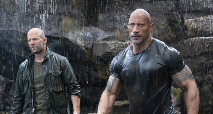 Photos: Dwayne Johnson Brings It Home for 'Hobbs & Shaw'