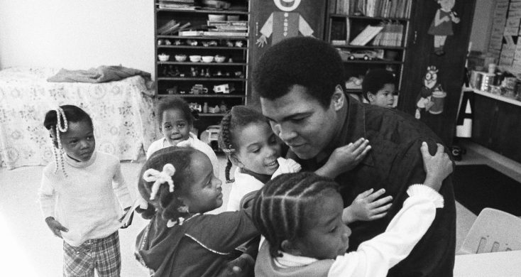 Photos: Muhammad Ali's Daughter Delivers a Knockout Interview about Her Famous Father Who is the Subject of a Ken Burns Documentary